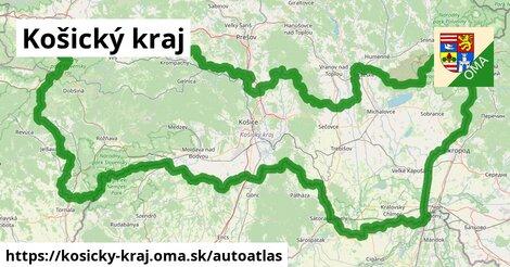 ikona Mapa autoatlas  kosicky-kraj