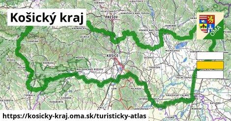 ikona Turistická mapa turisticky-atlas  kosicky-kraj