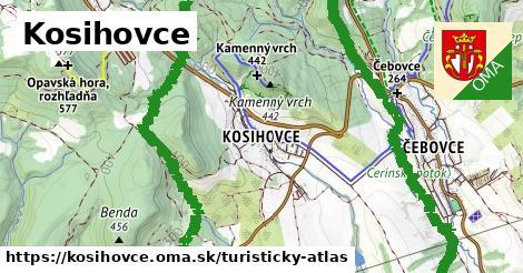 ikona Turistická mapa turisticky-atlas  kosihovce