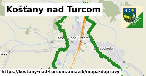 ikona Mapa dopravy mapa-dopravy  kostany-nad-turcom