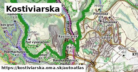 ikona Mapa autoatlas  kostiviarska