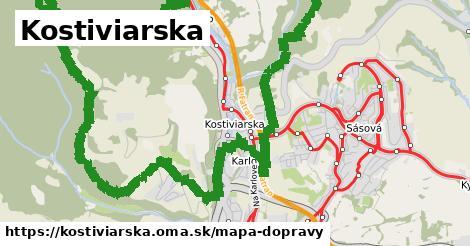 ikona Mapa dopravy mapa-dopravy  kostiviarska