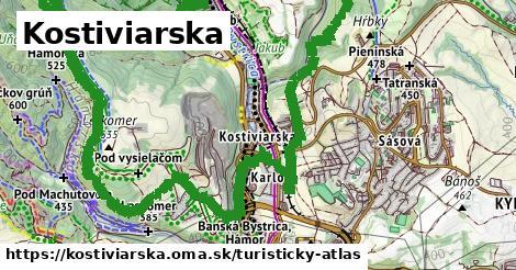 ikona Turistická mapa turisticky-atlas  kostiviarska