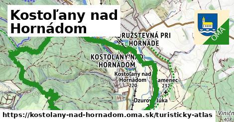 ikona Turistická mapa turisticky-atlas  kostolany-nad-hornadom
