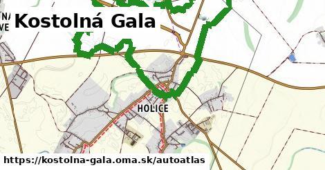 ikona Mapa autoatlas  kostolna-gala