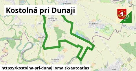 ikona Mapa autoatlas  kostolna-pri-dunaji