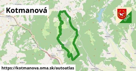 ikona Mapa autoatlas  kotmanova