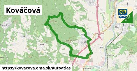 ikona Mapa autoatlas  kovacova