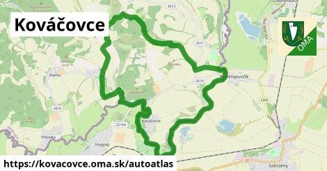 ikona Mapa autoatlas  kovacovce