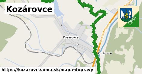 ikona Mapa dopravy mapa-dopravy  kozarovce