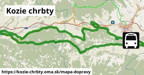 ikona Mapa dopravy mapa-dopravy  kozie-chrbty