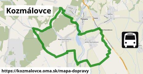 ikona Mapa dopravy mapa-dopravy  kozmalovce