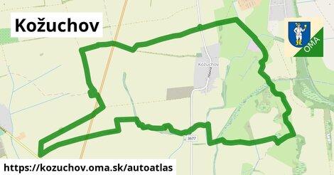 ikona Mapa autoatlas  kozuchov