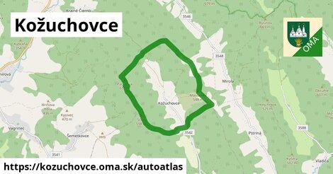 ikona Mapa autoatlas  kozuchovce