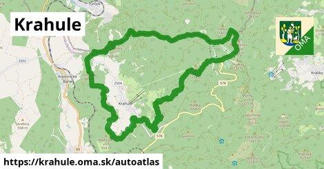 ikona Mapa autoatlas  krahule