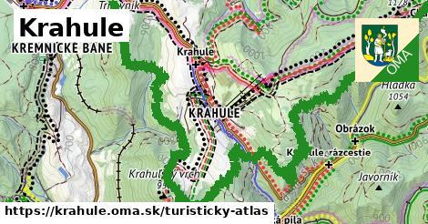 ikona Turistická mapa turisticky-atlas  krahule