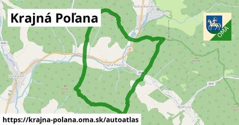 ikona Mapa autoatlas  krajna-polana