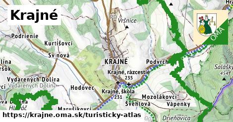 ikona Turistická mapa turisticky-atlas  krajne