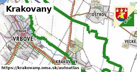 ikona Mapa autoatlas  krakovany