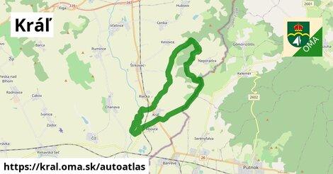 ikona Mapa autoatlas  kral