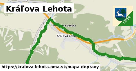 ikona Mapa dopravy mapa-dopravy v kralova-lehota
