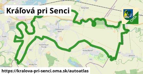 ikona Mapa autoatlas  kralova-pri-senci