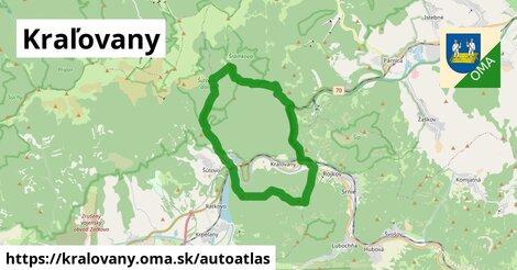 ikona Mapa autoatlas  kralovany