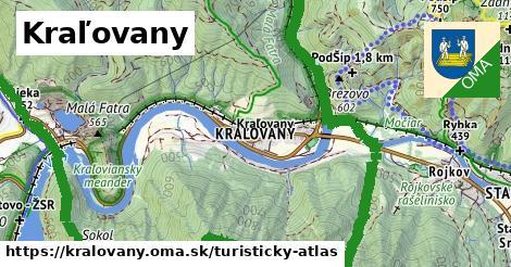 ikona Turistická mapa turisticky-atlas  kralovany