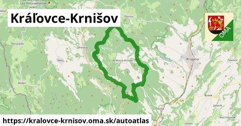 ikona Mapa autoatlas  kralovce-krnisov