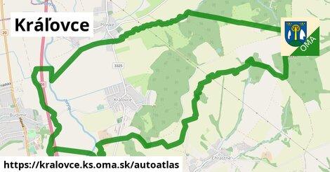 ikona Mapa autoatlas  kralovce.ks