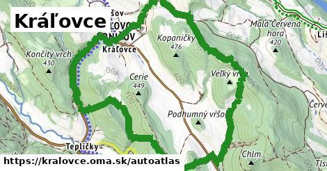 ikona Mapa autoatlas  kralovce