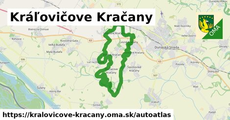 ikona Mapa autoatlas  kralovicove-kracany