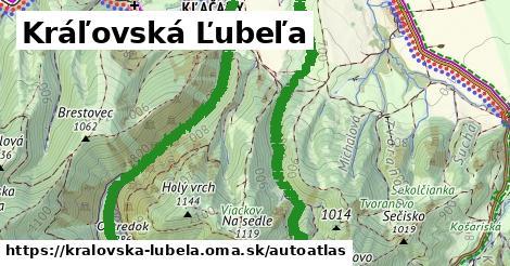 ikona Mapa autoatlas  kralovska-lubela