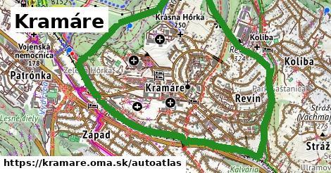 ikona Mapa autoatlas  kramare
