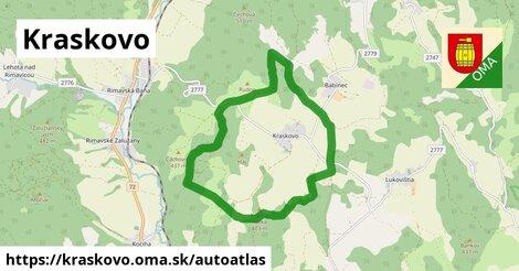 ikona Mapa autoatlas  kraskovo