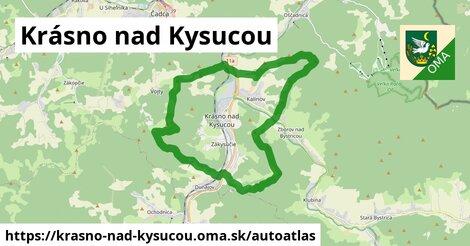 ikona Mapa autoatlas  krasno-nad-kysucou