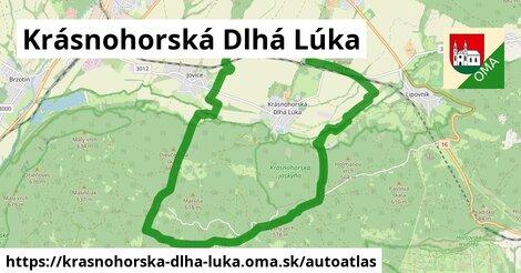 ikona Mapa autoatlas  krasnohorska-dlha-luka