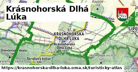 ikona Turistická mapa turisticky-atlas  krasnohorska-dlha-luka