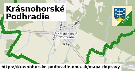 ikona Mapa dopravy mapa-dopravy  krasnohorske-podhradie