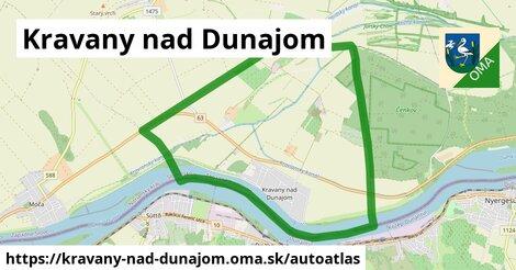 ikona Mapa autoatlas  kravany-nad-dunajom