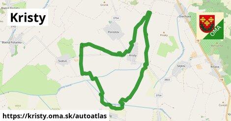 ikona Mapa autoatlas  kristy