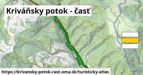 ikona Turistická mapa turisticky-atlas  krivansky-potok-cast
