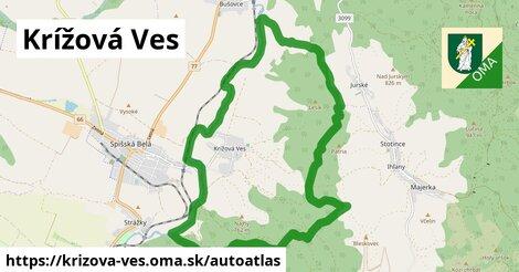 ikona Mapa autoatlas  krizova-ves