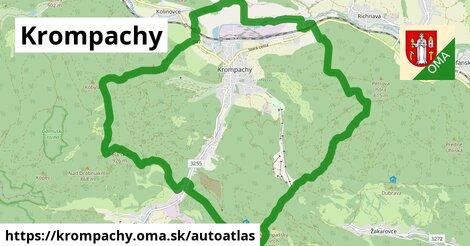 ikona Mapa autoatlas  krompachy