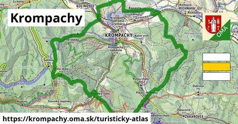ikona Turistická mapa turisticky-atlas  krompachy