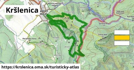 ikona Turistická mapa turisticky-atlas  krslenica