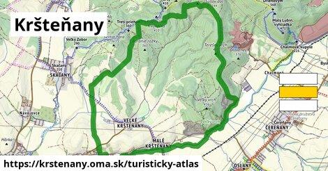 ikona Turistická mapa turisticky-atlas  krstenany