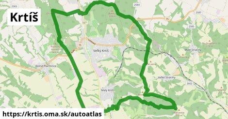 ikona Mapa autoatlas  krtis