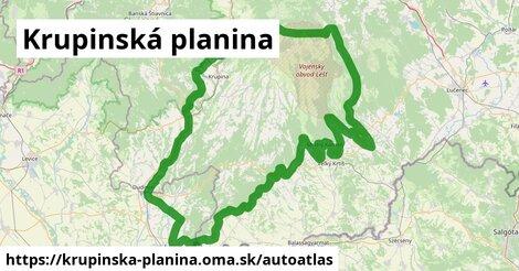 ikona Mapa autoatlas  krupinska-planina