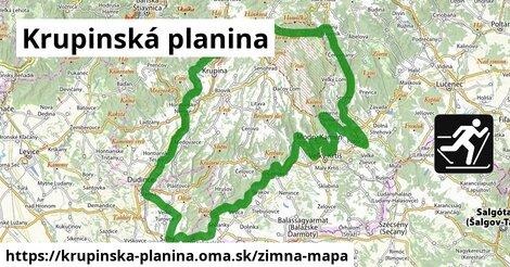 ikona Zimná mapa zimna-mapa  krupinska-planina
